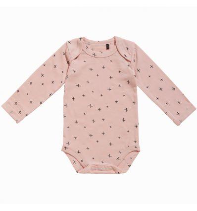 Ten Cate Baby Meisjes Romper Graphic Pink