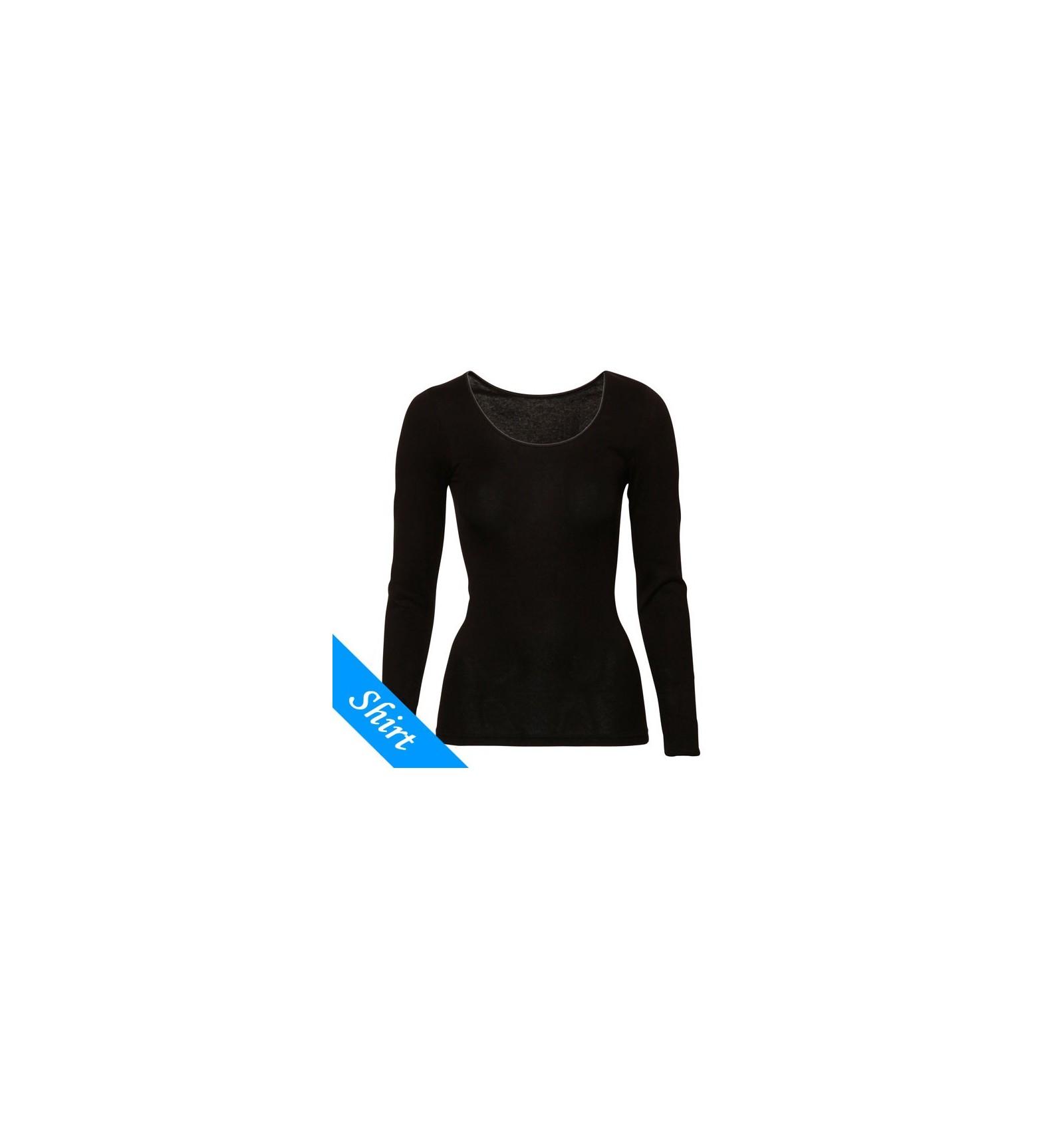 4b473dc89d4 Ten Cate Dames Longsleeve Shirt Zwart