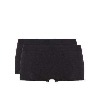 Ten Cate Dames Fine Shorts Zwart Melee 2Pack