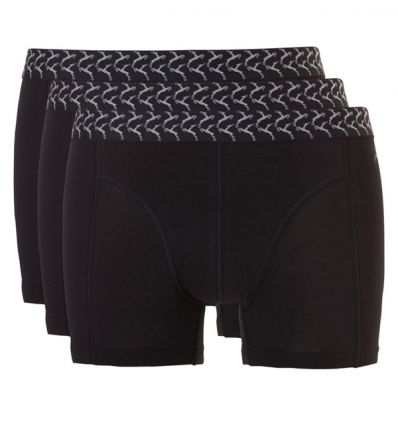 Ten Cate Heren Basic Short 3Pack Zwart 2+1 gratis!