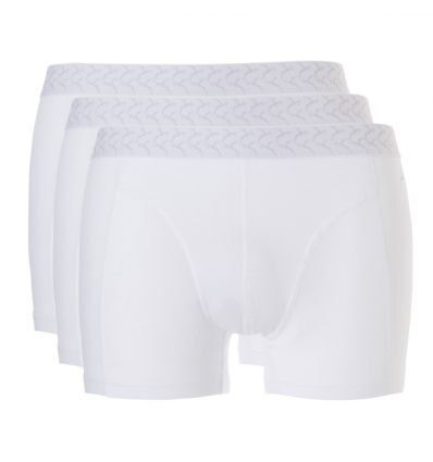 Ten Cate Heren Basic Short 3Pack Wit 2+1 Gratis!