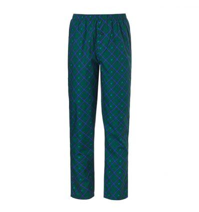 Ten Cate Woven PJ Pants Check Green