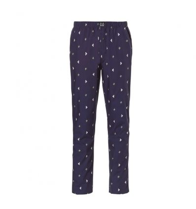 Ten Cate Woven Pyjama Pants Navy Deer