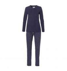 Ten Cate Dames Pyjama Snowflakes Navy
