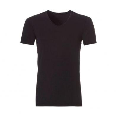 Ten Cate Heren Bamboo V-Shirt Zwart