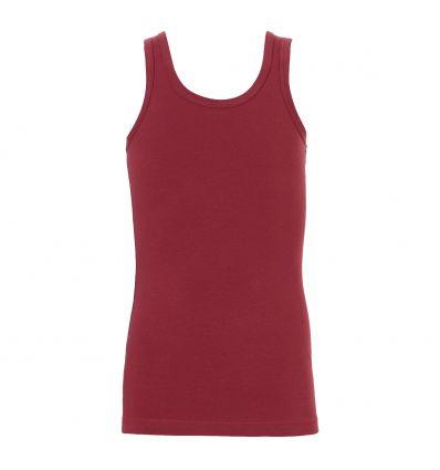 Ten Cate Jongens Hemd Brick Red 3-10Y