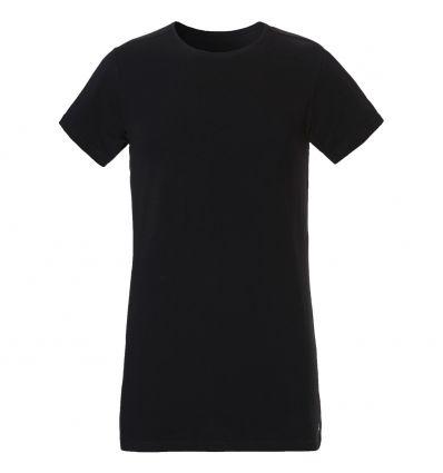 Ten Cate Heren Organic T-shirt Zwart Slim Fit