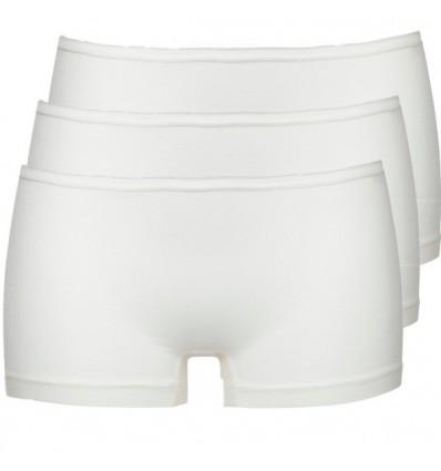 Ten Cate Dames Short 3Pack Ivoor 2+1 Gratis